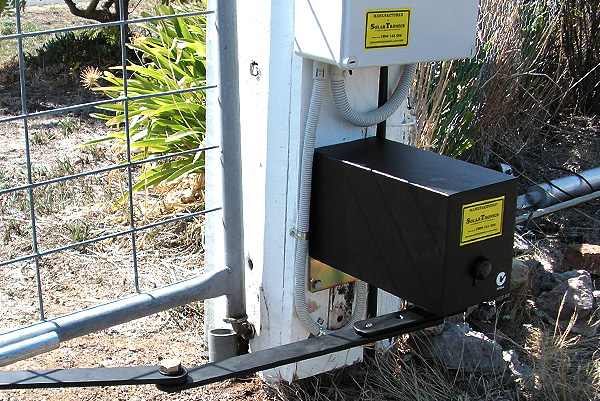 Installation of Solar Powered Electric Gates